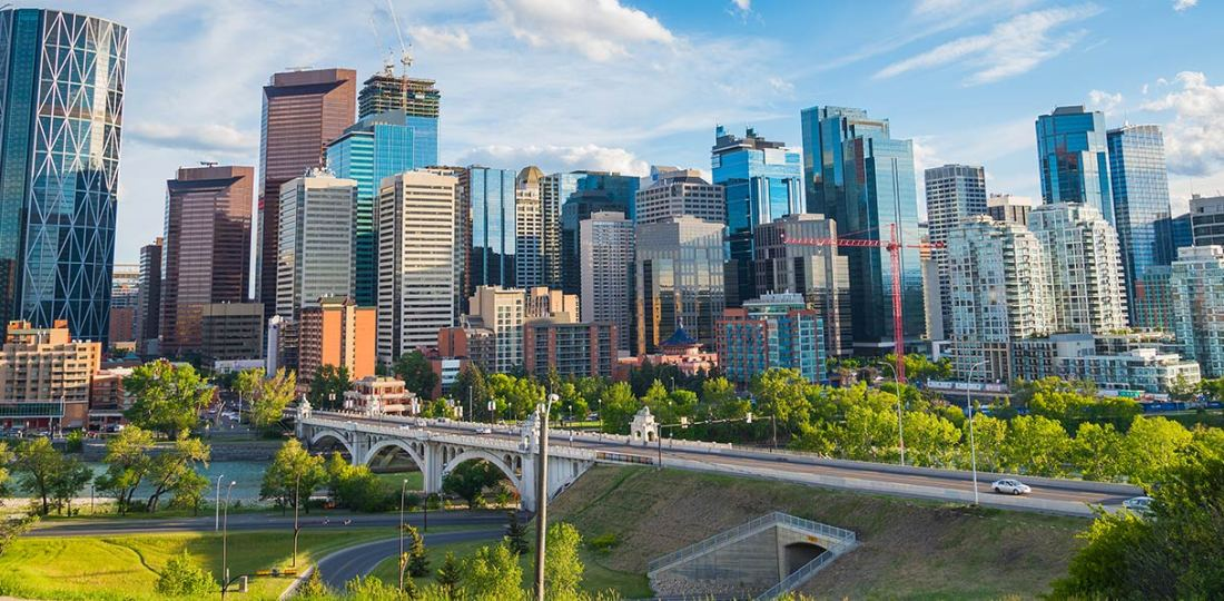 Mejores zonas donde alojarse en Calgary, Canadá