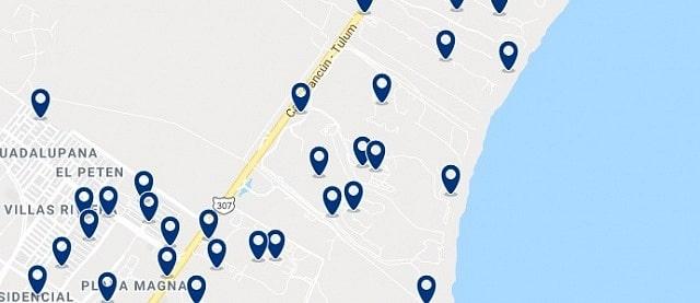 Alojamiento en Mayakoba - Haz clic para ver todo el alojamiento disponible en esta zona