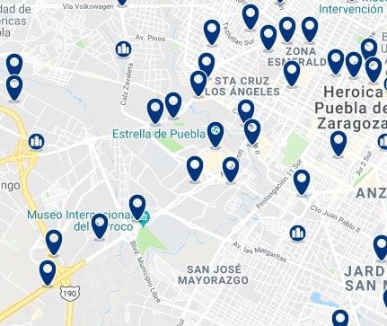 Alojamiento en Angelopolis - Haz clic para ver todo el alojamiento disponible en esta zona