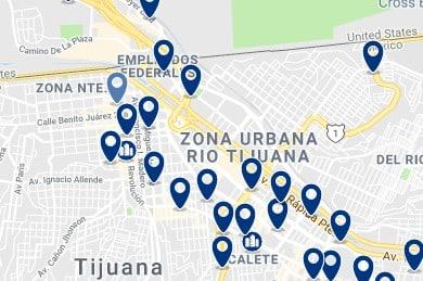 Alojamiento en Río Tijuana - Haz clic para ver todo el alojamiento disponible en esta zona