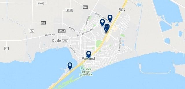 Alojamiento en Portland - Haz clic para ver todo el alojamiento disponible en esta zona