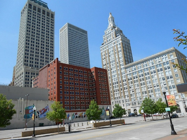 Mejores zonas donde alojarse en Tulsa, Downtown