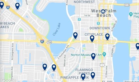 Alojamiento en West Palm Beach - Haz clic para ver todo el alojamiento disponible en esta zona
