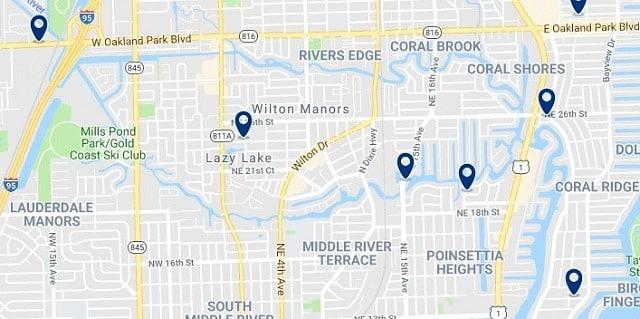 Alojamiento en Wilton Manors - Haz clic para ver todo el alojamiento disponible en esta zona