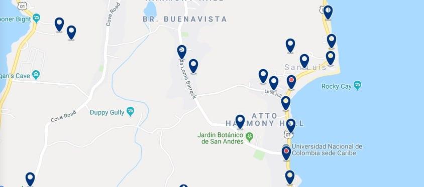 Alojamiento en San Luis - Haz clic para ver todos el alojamiento disponible en esta zona