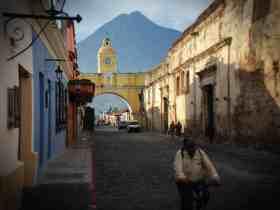 Las mejores zonas donde alojarse en Antigua Guatemala
