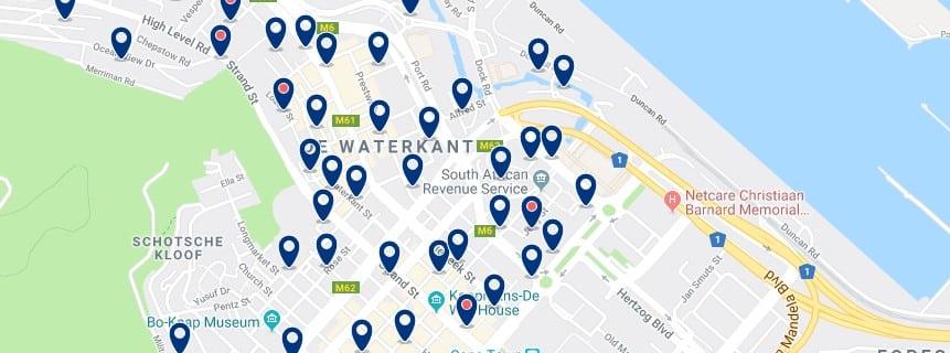 Alojamiento en De Waterkant - Haz clic para ver todos el alojamiento disponible en esta zona