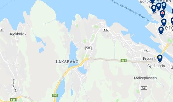 Alojamiento en Laksevåg - Haz clic para ver todos el alojamiento disponible en esta zona