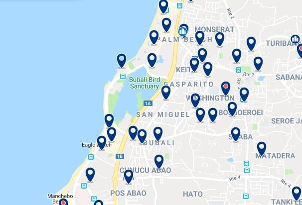 Alojamiento en Palm & Eagle Beaches - Haz clic para ver todos el alojamiento disponible en esta zona