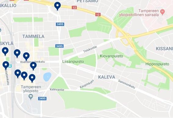 Alojamiento en Tammela y Liisankallio - Haz clic para ver todos el alojamiento disponible en esta zona