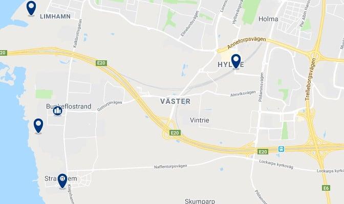 Alojamiento en Vaster - Haz clic para ver todos el alojamiento disponible en esta zona