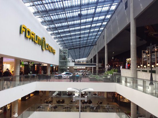 Best areas to stay in Kaunas - Near the train station and Akropolis Mall