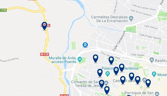 Accommodation near Centro de Congresos Lienzo Norte - Click to see all the available accommodation in this area