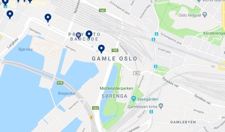 Alojamiento en Gamle Oslo - Haz clic para ver todos el alojamiento disponible en esta zona