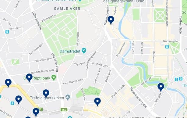 Alojamiento en Grünerløkka - Haz clic para ver todos el alojamiento disponible en esta zona