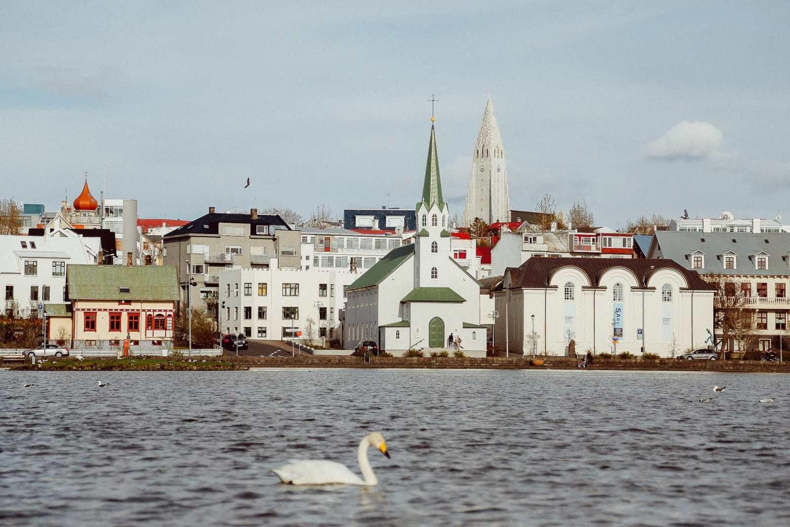 Las mejores zonas donde alojarse en Reykjavik, Islandia