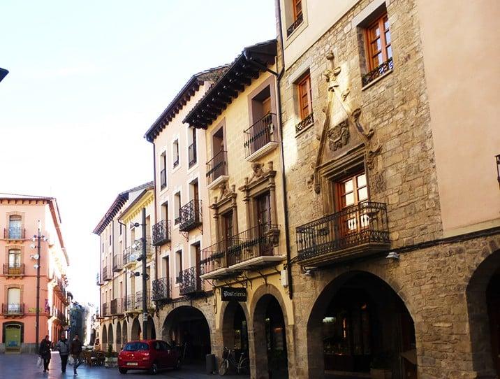 Mejores zonas donde alojarse en Jaca - Centro Histórico