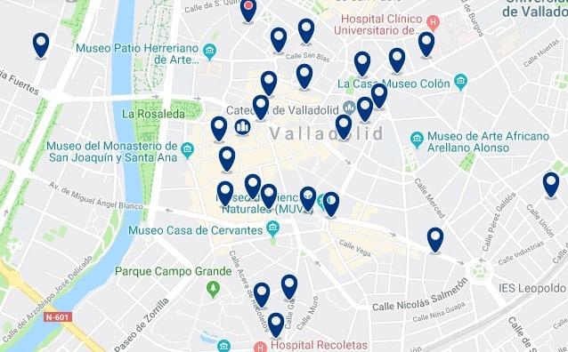 Alojamiento en el Centro Histórico de Valladolid - Haz clic para ver todos el alojamiento disponible en esta zona