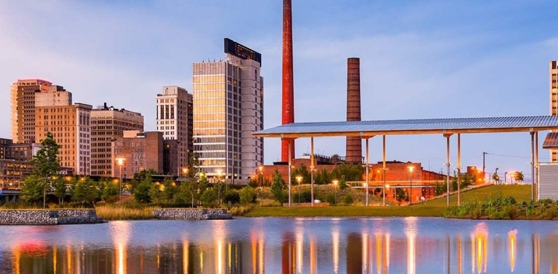 Dónde alojarse en Birmingham, Alabama