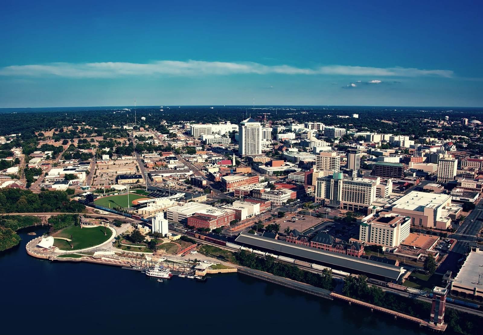 Las mejores zonas donde alojarse en Montgomery, Alabama