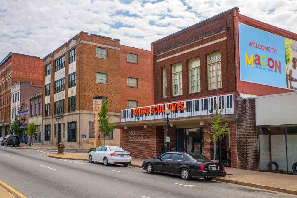 Mejores zonas donde alojarse en Macon, GA - Downtown