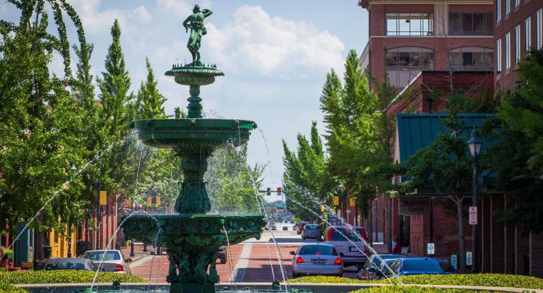 Mejores zonas donde dormir en Augusta, Georgia - Downtown