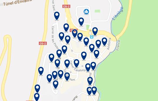 Alojamiento en Pas de la Casa – Haz clic para ver todo el alojamiento disponible en esta zona