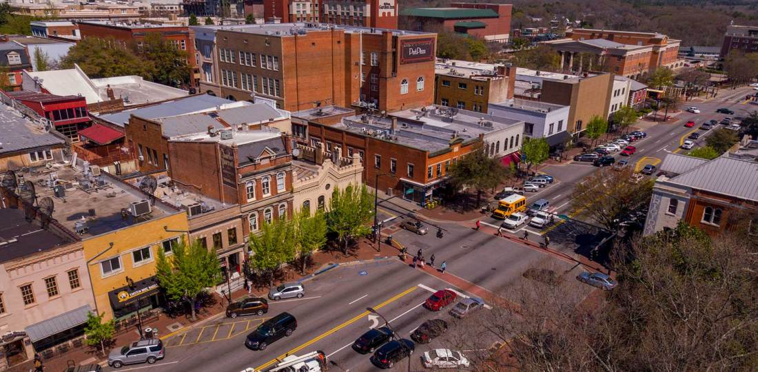 Dónde alojarse en Athens, Georgia