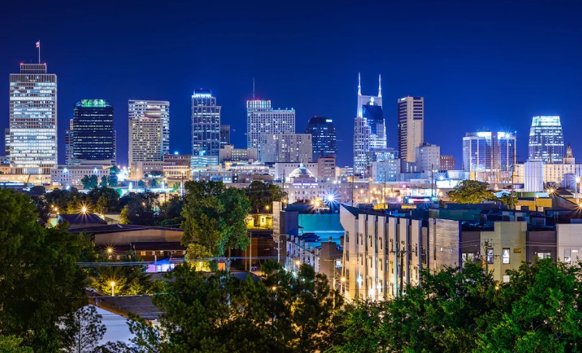 Mejores zonas donde alojarse en Nashville - Downtown