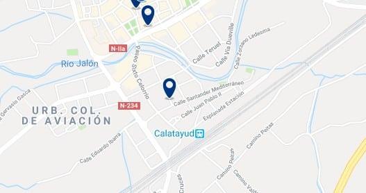 Alojamiento cerca de la estación de trenes de Calatayud - Haz clic para ver todos el alojamiento disponible en esta zona