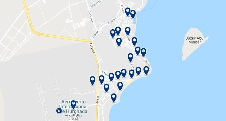 Alojamiento en Al Mamsha El Seyahi - Haz clic para ver todos el alojamiento disponible en esta zona