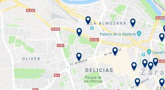 Alojamiento en Delicias - Haz clic para ver todos el alojamiento disponible en esta zona