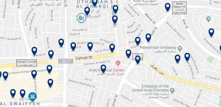 Alojamiento cerca del Baraka Mall - Clica sobre el mapa para ver todo el alojamiento en esta zona