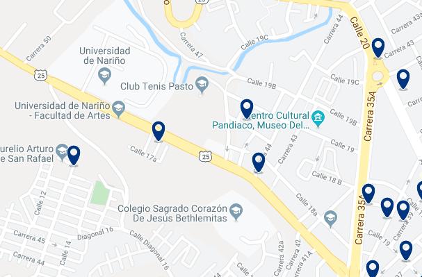 Alojamiento en el Norte de Pasto - Haz clic para ver todo el alojamiento disponible en esta zona