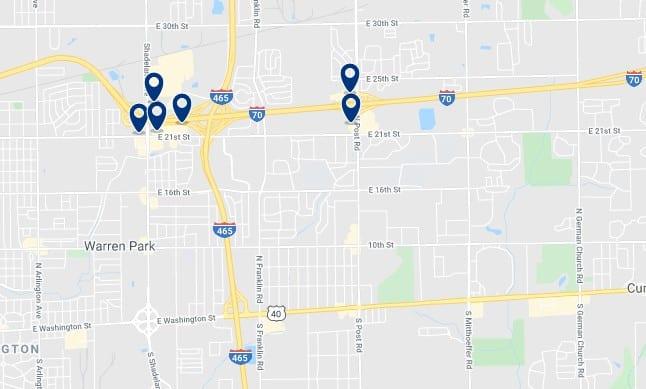 Alojamiento en Warren Township - Clica sobre el mapa para ver todo el alojamiento en esta zona