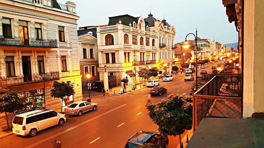 Zona recomendada donde alojarse en Tiflis - Chugureti