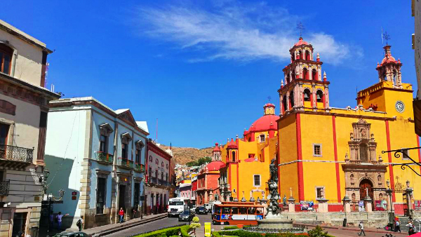 Where to stay in Guanajuato - Old Town