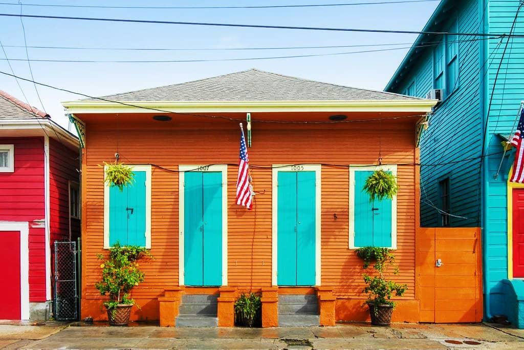 Mejores zonas donde alojarse en Nueva Orleans - Faubourg Marigny