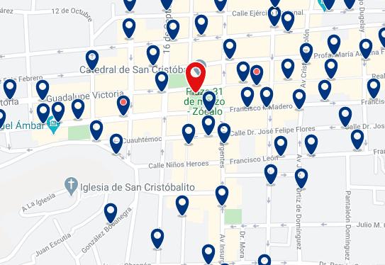 Alojamiento en el Centro de San Cristóbal - Haz clic para ver todo el alojamiento disponible en esta zona