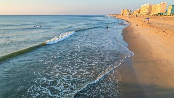 Alojarse en Virginia Beach - Playa de Virginia Beach
