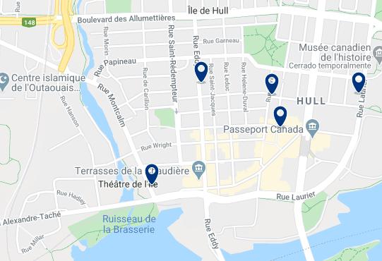 Alojamiento en Hull - Haz clic para ver todo el alojamiento disponible en esta zona