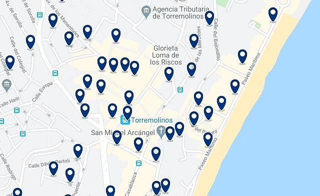 Accommodation in Torremolinos City Centre - Click to see all the available accommodation in this area