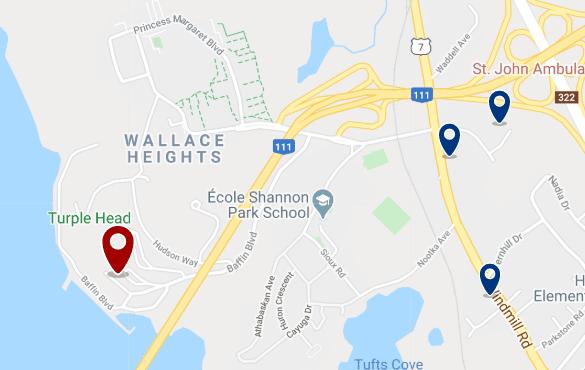 Alojamiento cerca del Bedford Institute of Oceanography - Haz clic para ver todo el alojamiento disponible en esta zona