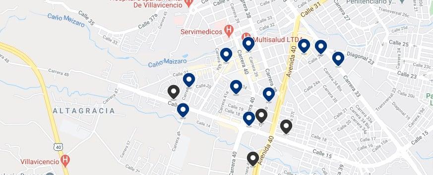 Alojamiento al sur del centro de Villavicencio, Colombia - Haz clic para ver todos el alojamiento disponible en esta zona