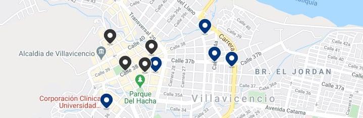 Alojamiento en el centro de Villavicencio, Colombia - Haz clic para ver todos el alojamiento disponible en esta zona