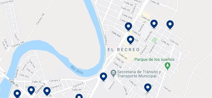 Alojamiento en el norte de Montería, Colombia - Haz clic para ver todos el alojamiento disponible en esta zona
