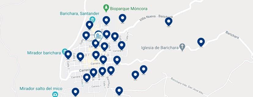 Alojamiento en el centro de Barichara, Colombia - Haz clic para ver todos el alojamiento disponible en esta zona