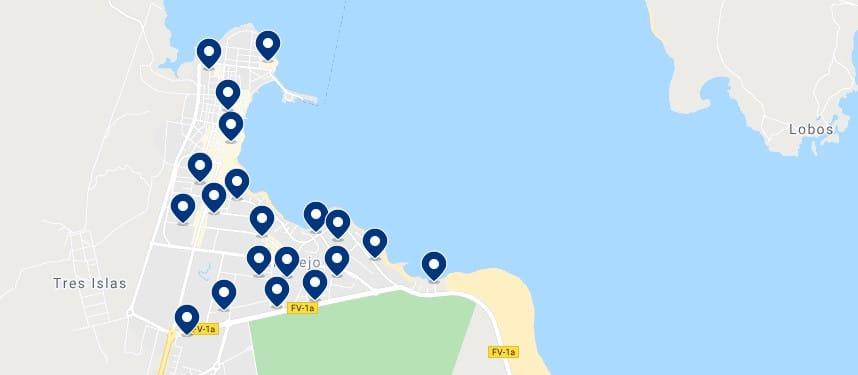 Alojamiento en Corralejo - Haz clic para ver todo el alojamiento disponible en esta zona