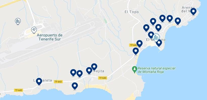 Alojamiento en El Médano – Haz clic para ver todo el alojamiento disponible en esta zona