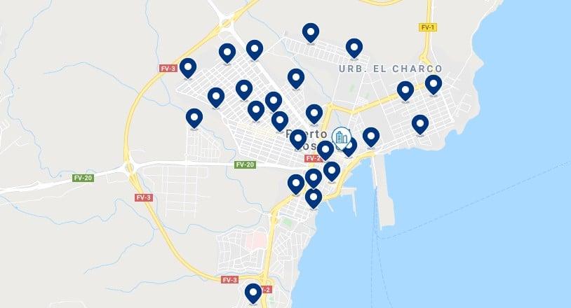 Alojamiento en Puerto del Rosario - Haz clic para ver todo el alojamiento disponible en esta zona